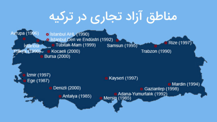 مناطق-آزاد-تجاری-در-ترکیه